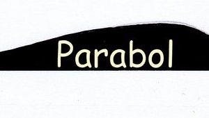 BEARPAW Feder RW Parabol 4 Zoll einfarbig