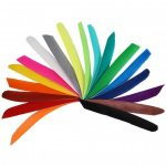 Die Federn volle Länge einfarbig
